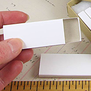 Narrow Blank Matchboxes