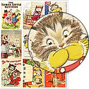 3 Little Kittens ATCs Collage Sheet