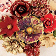 A Victorian Christmas - Pere Noel Paper Flowers