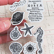 Under The Sea Cling Stamp Set