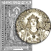 Midsummer Rubber Stamp