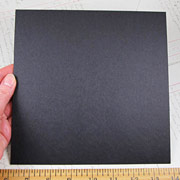 8x8 Heavy Chipboard - Black