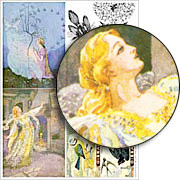 Cinderella & Birds Collage Sheet