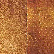 Double Dot Vintage Gingerbread Scrapbook Paper
