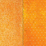 Double Dot Vintage Orange Citrus Scrapbook Paper