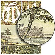 Beach and Shore Backdrops Collage Sheet