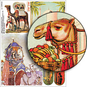 Camels Collage Sheet