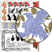 Cinderella Borders Collage Sheet