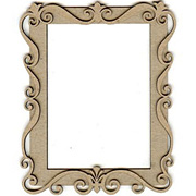 Artsy Large Chipboard Frame Set*