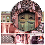 Doorways - Pink Collage Sheet