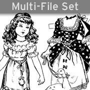 Fairy Tale Paper Dolls Set Download