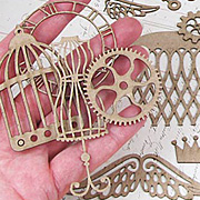 Steampunk Shapes Set - Hot Air Balloon*