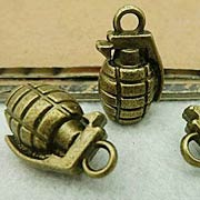 Hand Grenade Charms