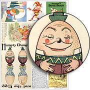 Humpty Dumpty #1 Collage Sheet