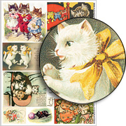 K is for Kittens Collage Sheet