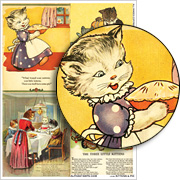 Kittens & Pie Collage Sheet