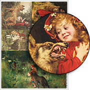 Meeting the Wolf Collage Sheet