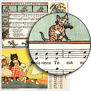 Musical Pie Collage Sheet