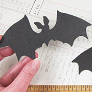 Black Chipboard Bat*