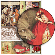 Red Riding Hood #1 Collage Sheet