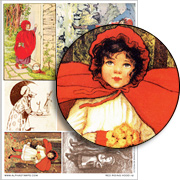 Red Riding Hood #2 Collage Sheet