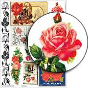 Roses #1 Collage Sheet