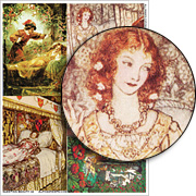 Sleeping Beauty #2 Collage Sheet