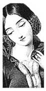 Anne of Bohemia Rubber Stamp