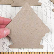 Chipboard Birdhouse Shapes*