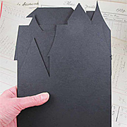 Haunted House Black Chipboard Set
