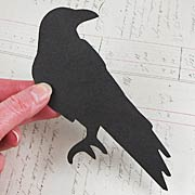 Black Chipboard Raven*