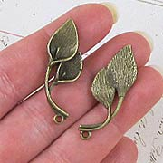 Calla Lily Leaf Charms**