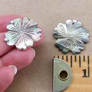 Carved Shell Flowers
