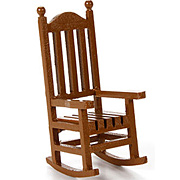 Miniature Wood Rocking Chair*