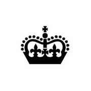 Chunky Crown Rubber Stamp