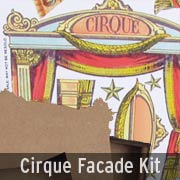 Cirque Facade Theatre Add-On Kit
