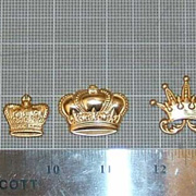 Brass Crown Set