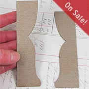 Curtains Die-Cut Chipboard Set*