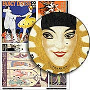 Art Deco Pierrot Collage Sheet