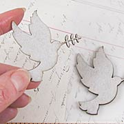Peace Doves Chipboard Die-Cuts*