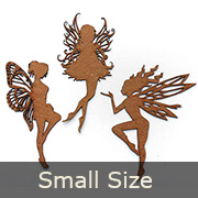 Chipboard Fairies Set - Small