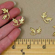 Florentine Brass Leaves