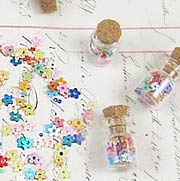 3mm Mixed Color Flowers in Bottle
