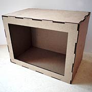 Frame Front Room Box
