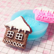 Gingerbread House Mini Silicone Mold*