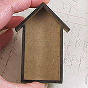 Tiny Little Shadowbox Houses 1