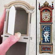 3D Grandfather Clock - Large