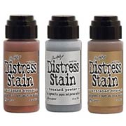 Metallic Distress Stain - Set of 3