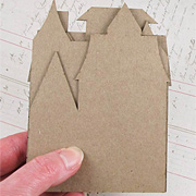 Mini Haunted House Chipboard Set