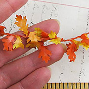 Tiny Oak Leaf Garland
